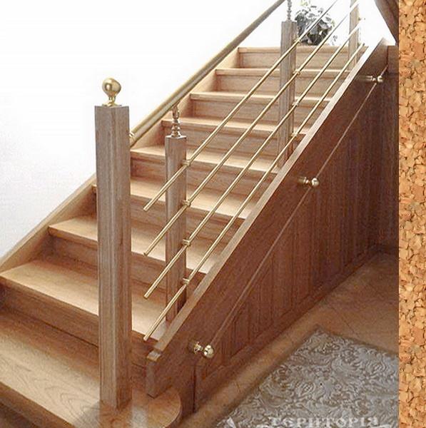 перила для дерев'яних сходів