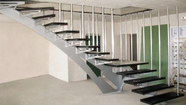 Поворотные лестницы. Дань моде или экономия пространства?