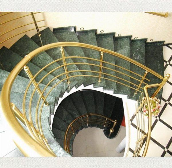 перила универсальные на винтовой лестнице