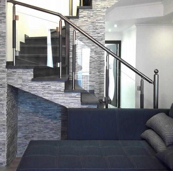 сочетание алюминия и стекла в интерьере квартиры