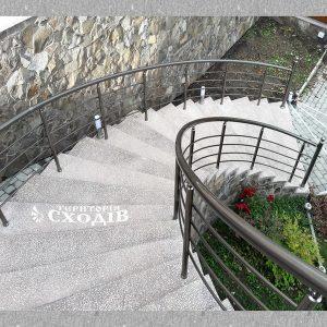 перила на вхідних сходах