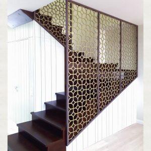 эксклюзивное ограждение для лестницы