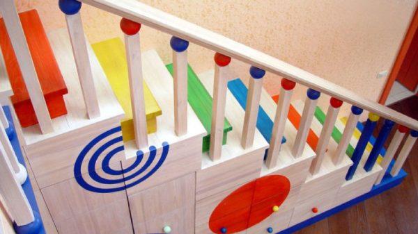 безопасная лестница для детей