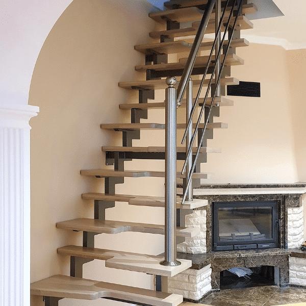 лестница гусиные лапки