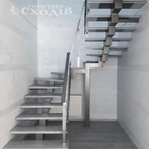 современная открытая лестница