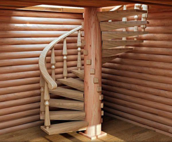 пример винтовой лестницы