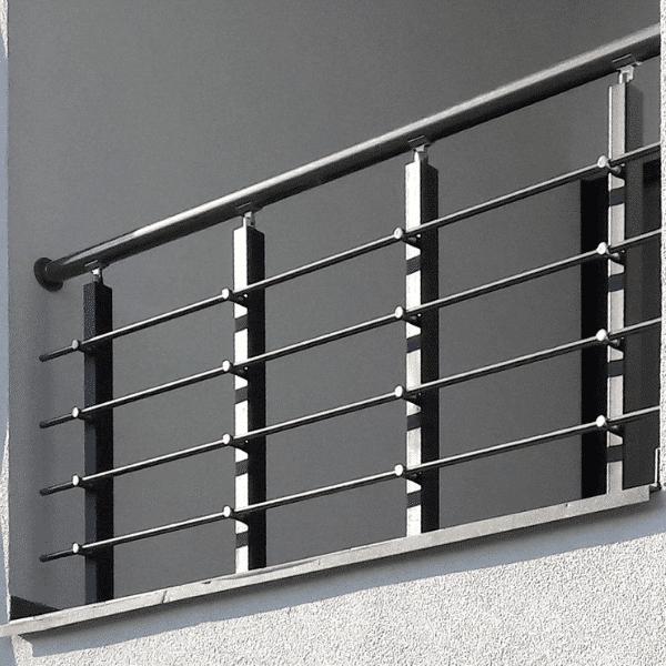 перила на балкон из металла