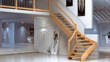 Забежные ступени или площадка, что лучше выбрать для лестницы