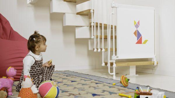 варианты ограждений на лестницу